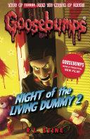 Goosebumps: Night Of The Living Dummy II image