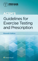 link to ACSM's guidelines for exercise testing and prescription in the TCC library catalog