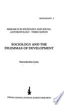 Sociology and the Dilemmas of Development