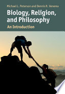 Biology  Religion  and Philosophy