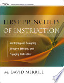 """""""First Principles of Instruction"""" by M. David Merrill"""