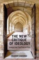 The New Critique of Ideology Pdf/ePub eBook