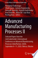 Advanced Manufacturing Processes II