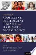 Handbook Of Adolescent Development Research And Its Impact On Global Policy Book PDF