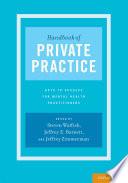 Handbook Of Private Practice