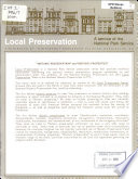 Historic preservation  and  historic properties