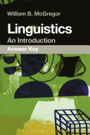Linguistics  An Introduction Answer Key
