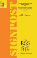 The RSS and the BJP
