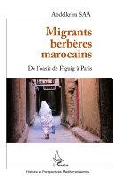 Pdf Migrants berbères marocains Telecharger