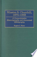 Winston S. Churchill, 1874-1965