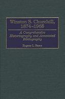 Winston S  Churchill  1874 1965