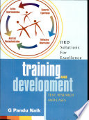Training and Development  : Text, Resaearch and Cases