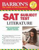 Barron s SAT Subject Test Literature Book