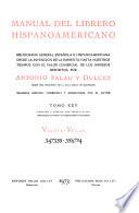 Manual del librero hispano-americano  : inventario bibliográfico de la producción científica y literaria de España y de la América latina desde la invención de la imprenta hasta nuestros dias, con el valor comercial de todos los artículos descritos , Band 25