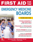 Pdf First Aid for the Emergency Medicine Boards Third Edition Telecharger