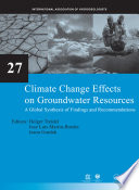Climate Change Effects on Groundwater Resources