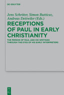 Pdf Receptions of Paul in Early Christianity Telecharger