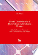Recent Developments in Photovoltaic Materials and Devices Book