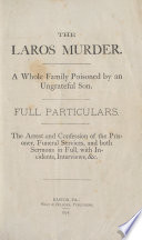 The Laros Murder Book