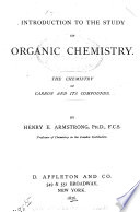 Introduction to the Study of Organic Chemistry