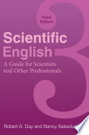 Scientific English A Guide For Scientists And Other Professionals 3rd Edition