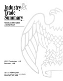 Industry and Trade Summary: Wool and Related Animal Hair Pdf/ePub eBook