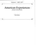 American Experiences ebook