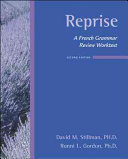 Reprise  A French Grammar Review Worktext