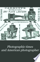 Photographic Times and American Photographer