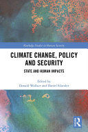 Climate Change, Policy and Security Pdf/ePub eBook