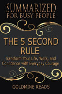 THE 5 Second RULE   Summarized for Busy People