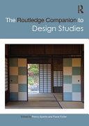 The Routledge Companion to Design Studies