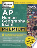 Cracking the AP Human Geography Exam 2020