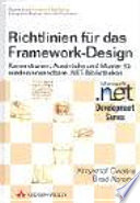 Richtlinien für das Framework-Design  : Konventionen, Ausdrücke und Muster für wiederverwendbare .NET-Bibliotheken