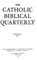 Catholic Biblical Quarterly