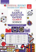 Pdf Oswaal CBSE Sample Question Paper Class 9 Science Book (Reduced Syllabus for 2021 Exam)