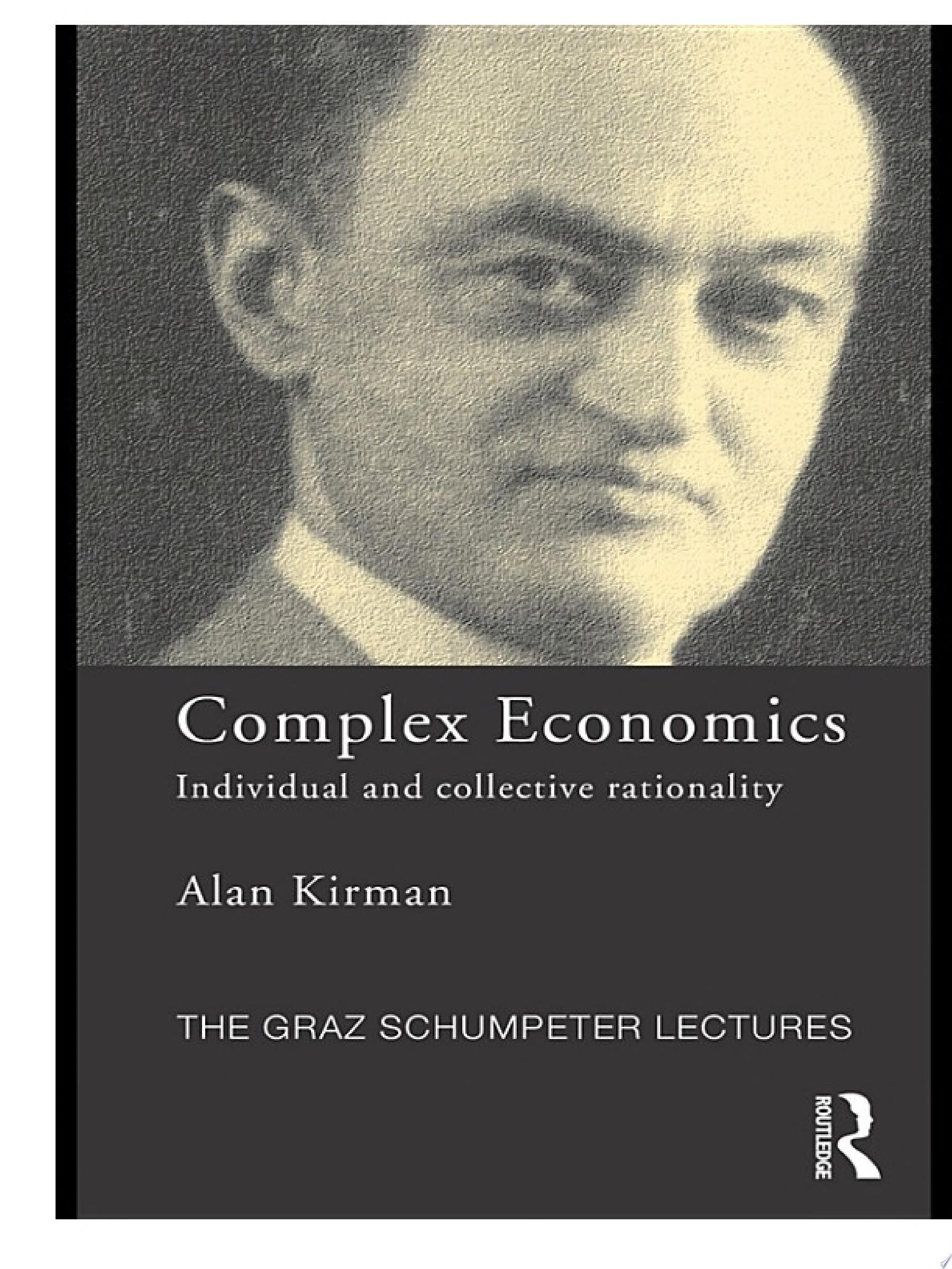 Complex Economics
