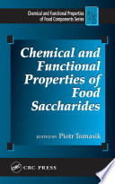 Chemical and Functional Properties of Food Saccharides Book