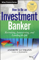 How To Be An Investment Banker PDF