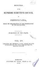 Colonial Records of Pennsylvania