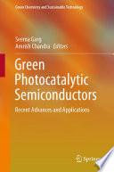 Green Photocatalytic Semiconductors