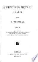 Scriptores metrici graeci