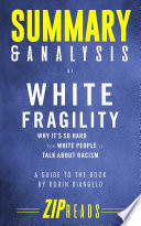 Summary   Analysis of White Fragility