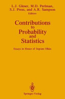 Contributions to Probability and Statistics