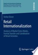 Retail Internationalization Book
