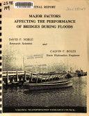 Major Factors Affecting the Performance of Bridges During Floods Book