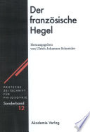 Der französische Hegel
