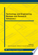 Technology And Engineering Reviews And Research Advances I Book PDF