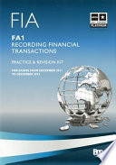 FIA Recording Financial Transactions - FA1 - Kit