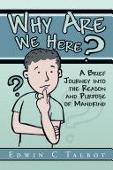 Why Are We Here? Pdf/ePub eBook